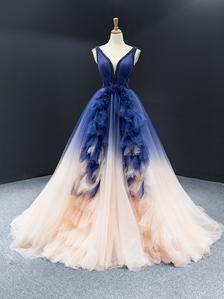 Pretty Prom Dresses, A Line Prom Dresses, Ball Gowns Prom, Ball Gown Dresses, Cute Dresses, Beautiful Dresses, Formal Dresses, Blue Ball Gowns, Masquerade Ball Dresses