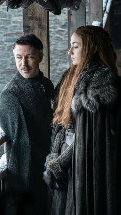 Petyr Baelish and Sansa Stark (S7)