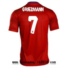 Maglia Atletico Madrid Griezmann Home 2015-2016