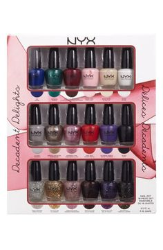 Great gift! Holiday Nail Art Collection