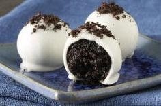 OREO White Chocolate Cookie Balls Recipe