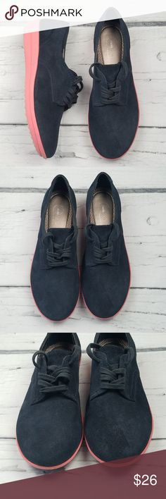 EASY SPIRIT Blue Suede Oxfords w/ Pink Sole 💕 Bundle 2 or more items from my closet and receive 10% off + I'll pay your shipping! 💕 This Weekend Only! 💕  Women's Easy Spirit Anti Gravity Oxfords Blue Suede upper w/ Pink Sole US Size 7M Pre-owned in great condition! Easy Spirit Shoes Flats & Loafers
