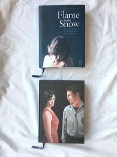 Flame in the Snow's two covers (standard above and special below)
