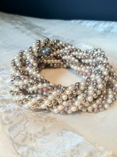 Hey, I found this really awesome Etsy listing at https://www.etsy.com/listing/108795178/lovely-estate-vintage-tricolor-pearl