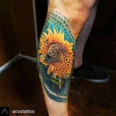 WEBSTA @ world_wide_collective_ - Honeycomb hybrid! By@acostattoo @acostattoo **AUSTIN TEXAS**______________________________#tattoosofinstagram #татуировка #tatu #tattoo  #татуировки #tattoooftheday  #tatovering  #amazingtattoos#Tätowierung #tattooinspiration #tatuering  #tatuaje  #وشم#tat  #tatt  #blackngrey#colortattoos #문신  #tatuaż  #realistictattoos #inkedup#tatuaggio #タトゥー #tato #tattooitalia#tatouages #tattoolove