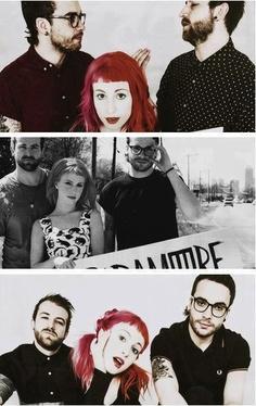 Paramore #paramore #sound #music #poppunk #popular #hayleywilliams #tayloryork #jeremydavis