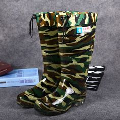 Marlin Deck Boots Utility Fishing Boots with Insolated Liner GREEN Select Size