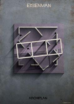 Galería de Las ilustraciones ARCHIPLAN de Federico Babina analizan las plantas de célebres arquitectos - 10