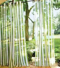 Outdoor curtains, Outdoor drapes, Sheer curtains, Porch enclosure and other furniture & decor products. Browse and shop related looks. Porch Curtains, Sheer Curtains, Panel Curtains, Leaf Curtains, Patterned Curtains, Outdoor Drapes, Outdoor Decor, Outdoor Ideas, Indoor Outdoor