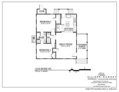 South Bay Cottage - Allison Ramsey Architects - House Plans in All Styles for All Regions