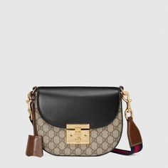 a033bdba2b19 Gucci Padlock GG Supreme shoulder bag  WomensShoulderbags Gucci Padlock  Bag