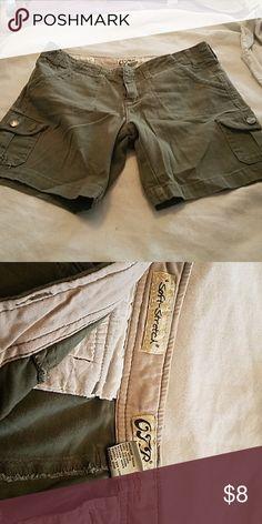 Shorts Size 3 soft stretch army green shorts Shorts