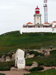 The Cabo da Roca Lighthouse is located 541 feet above the Atlantic Ocean, on Portugal's most westerly coast at Cabo da Roca, Sintra, Portugal. It began operating in 1772 and it was the first new purpose-built lighthouse to be constructed in the country. It stands at a height of 72 feet and was automated in 1990.