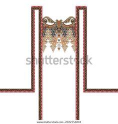 Digital Textile Design Ornament Pattern Stock Illustration 2022556043