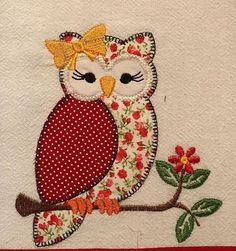 24 ideas embroidery shirt ideas design for 2019 Hand Applique, Machine Embroidery Applique, Applique Patterns, Applique Quilts, Applique Designs, Embroidery Art, Patchwork Quilting, Embroidery Stitches, Quilt Patterns