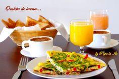 Winter omelet... | Papa la Ile