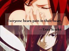 """Everyone bears pain in their heart"". It is very true"