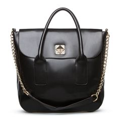 Structured bags like this put an outfit together perfectly.