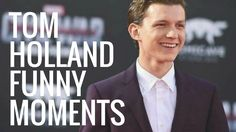 Tom Holland Funny Moments | Part 1 GO TO 3:11 WATCH IT