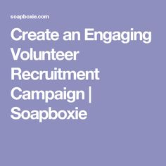 Create an Engaging V