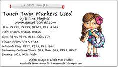 Little Miss Muffet Polka Dot Pals – Facial Feature Fun! – Quixotic Cards