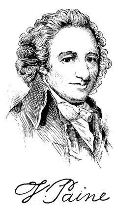 """""""…a long habit of not thinking a thing WRONG, gives it a superficial appearance of being RIGHT, and raises at first a formidable outcry in defense of custom."""" —Thomas Paine, Common Sense worksheet worksheet for kids worksheet student Us History, American History, Thomas Paine, Black And White Drawing, Thought Of The Day, Worksheets For Kids, Early American, Cool Pictures, Things To Come"""