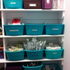 Organizing Medical Supplies for joe...