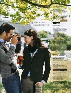 J.Crew Aficionada: J.Crew of Seasons Past: October 2005 in England!