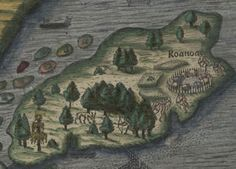"One of the great mysteries of North America, Roanoke's so-called ""Lost Colony"" of 90 men, 17 women and 9 children, founded in 1587 and discovered to be missing in 1590, but for the word ""Croatan"" carved on a post. Although both the English and the Spanish searched for clues to the colony's disappearance for many years, the mystery has never been solved."