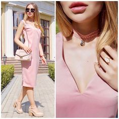 Get this look: http://lb.nu/look/8257331  More looks by Alina Nue: http://lb.nu/alinanue  Items in this look:  Acacia Store Tank Dress, Asos Choker, Furla Chain Bag, H&M Stone Ring, Crucciani Macrame Bracelet, Asos Summer Boots   #chic #elegant #romantic #lookbook #outfitoftheday #cosy #feminine #dress #asos