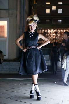 ストリートスナップ [PELI] | 原宿 | Fashionsnap.com cute hair,sleek outfits