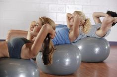 How to Get Rid of Lower Belly Fat With Stability Ball