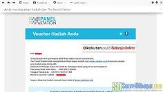 Voucher Rakuten.co.id dari The Panel Station Indonesia   SurveiDibayar.com