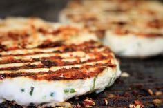 Hambúrguer de frango grelhado