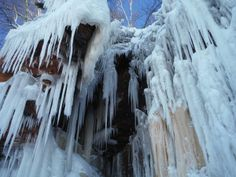 Apostle Islands Ice Caves, Bayfield, WI