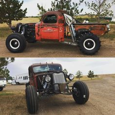 A place for Rat Rods, Odd Rods, Hot Rods, & Junkers. Cool Trucks, Big Trucks, Chevy Trucks, Cool Cars, Rat Rod Trucks, Pickup Trucks, Jeep Rat Rod, Rat Rod Pickup, Truck Mods
