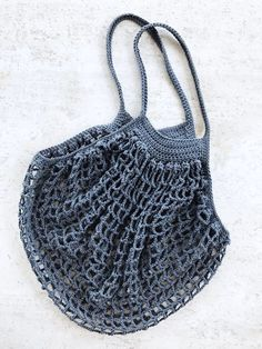 French Market Bag - free crochet pattern at Two of Wands.