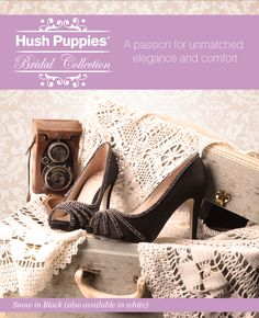 Bridal Wardrobe S Hush Puppies Wedding Shoes Collection In