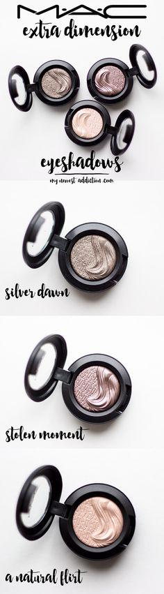 Mac cosmetics extra dimension eyeshadow