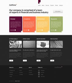 Business Conflicts Joomla Template by Html5 Web Templates