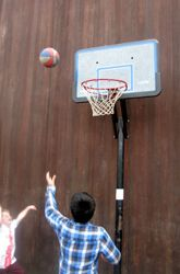 Shooting Hoops Multiplication- even thought this activity is a bit procedural in its use of flash cards of multiplication problems. But it includes kinesthetic activities to cater to different types of learners for a unique, communal experience.