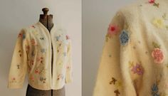 1960's Meadowlands Lambs Wool Cardigan / Barbara by mamaleanne22, $38.00
