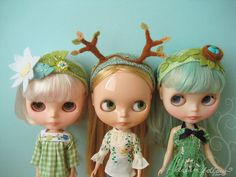 Kinda sorta really want a pointless Blythe doll collection :D