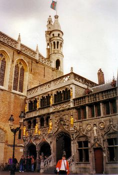 Town Hall. Bruges, BELGIUM.  (by Kanikoski, via Flickr)