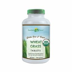 I'm learning all about Amazing Grass Wheat Grass Tablets at @Influenster!