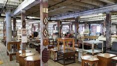 The Original Treasure Mart (Kokomo) - 2019 Antique Furniture, Modern Furniture, Kokomo Indiana, Antique Booth Ideas, La Quinta Inn, Oak Lawn, Old Bricks, Consignment Shops, Exposed Beams