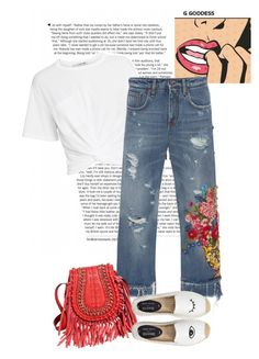 """Get away from here"" by francyilaria on Polyvore featuring T By Alexander Wang, Dolce&Gabbana and Soludos"