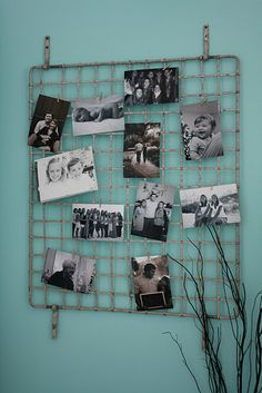 Cool photo display idea...