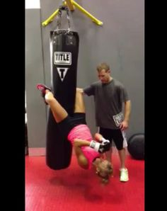 how to heavy bag sit up