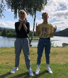 Girls Fashion Clothes, Girl Fashion, Fashion Outfits, Twin Boys, Twin Brothers, Bars And Melody, Dream Boyfriend, Great Friends, Feel Better